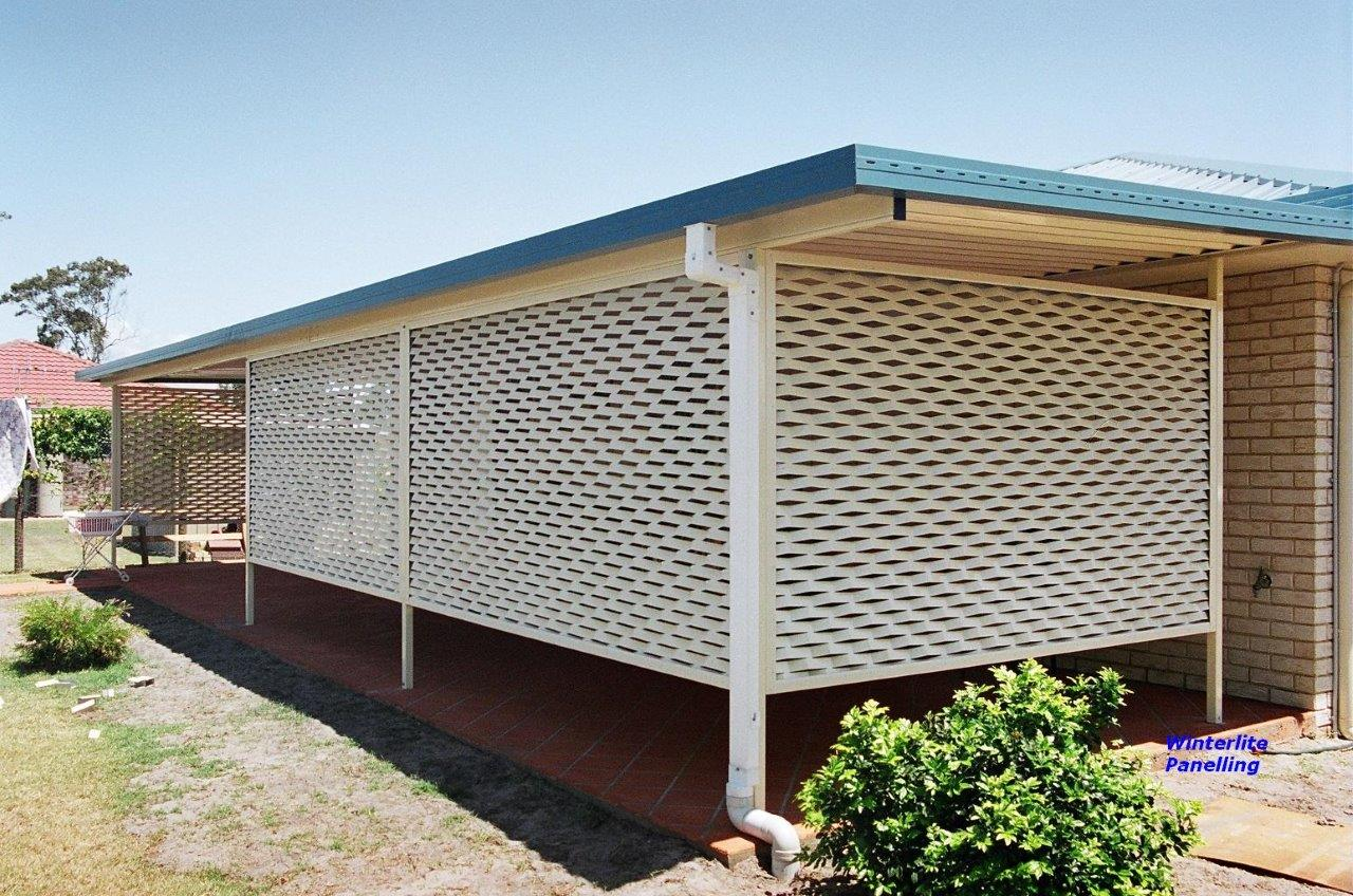 Carport Privacy Screen Home Design