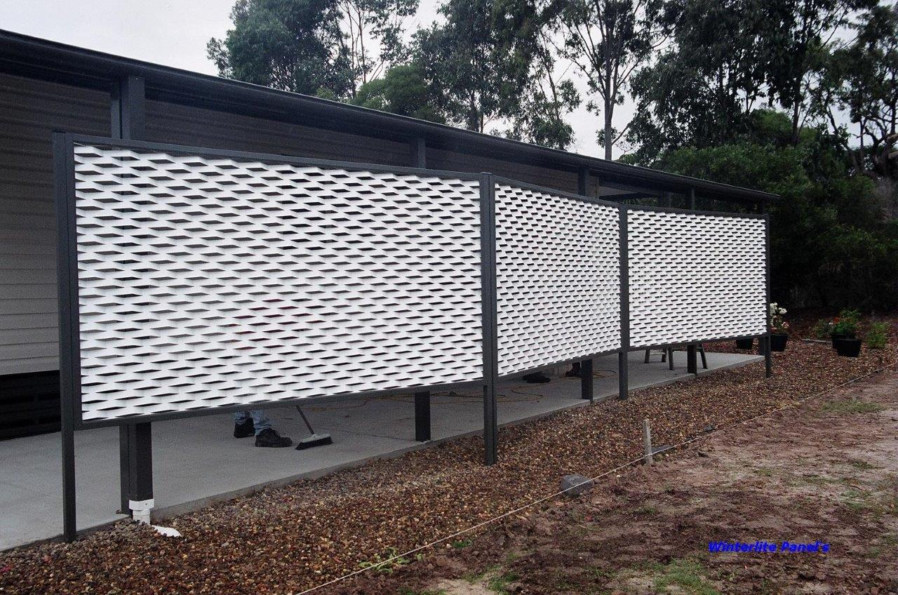 Frank s home d cor centre examples of our work for What s a privacy screen